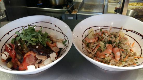 Salades et planche mixte