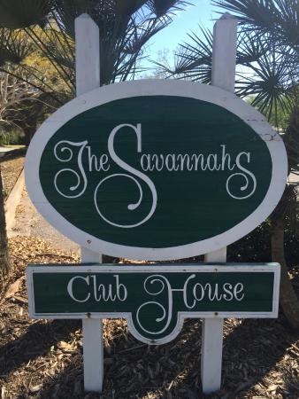 The Savannahs Golf Course: Welcome