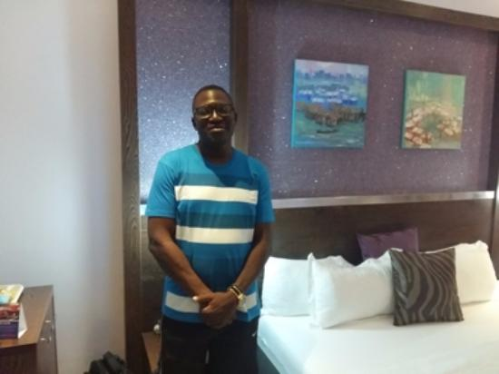 Ilorin, Nigeria: In the emerald suite