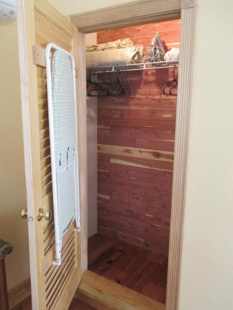 Kingston House B Cedar Lined Closet Bermudiana Room