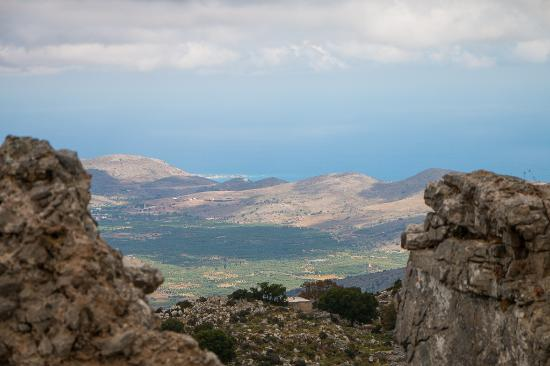 Creta, Grecia: Views from Karfi