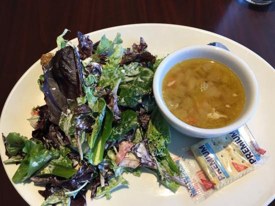 Rick's Desert Grill: Bottom-less soup & salad combo. Always good.