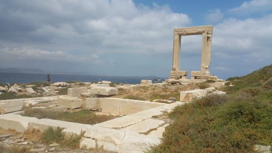 Città di Naxos, Grecia: Apollo's Temple