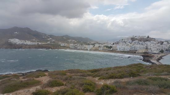 Città di Naxos, Grecia: View towards Naxos Town