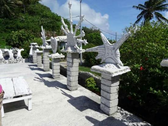 Maupiti Island, Polinezja Francuska: Le palais de la mer