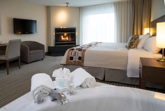 Chambre Romantique Picture Of Excelsior Hotel Spa Sainte Adele