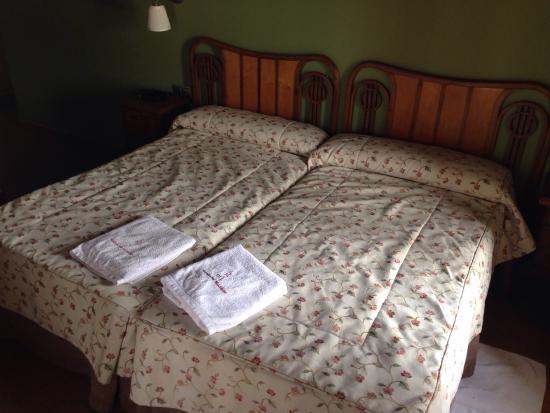 Velayos, España: Repetiremos seguro.  Una gran atención por parte del servicio, una habitación amplia, limpia, y