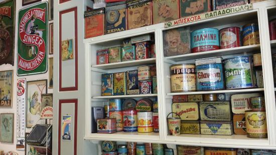 Oineas Restaurant: Il piacevole arredamento vintage di Oineas