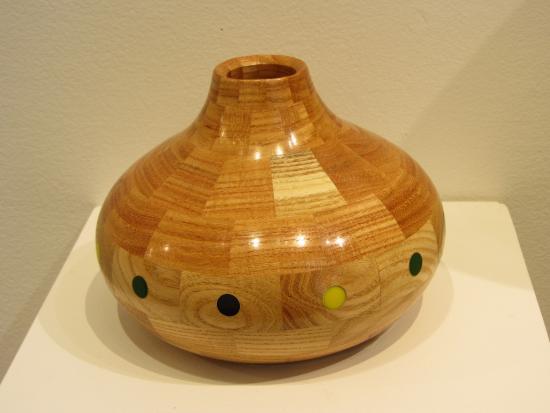 Fuller Craft Museum: Wooden bowl