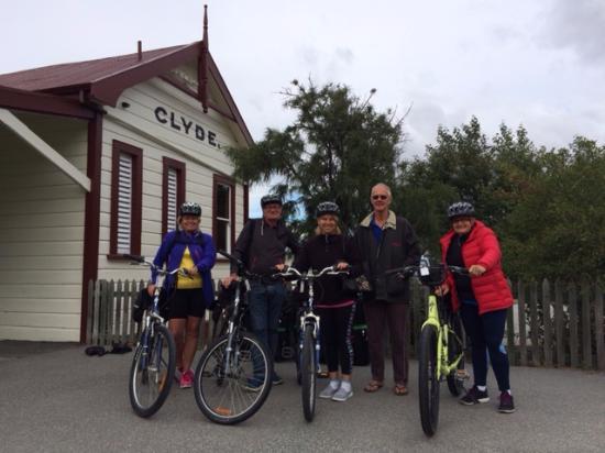 Omakau, Nueva Zelanda: Setting off from Clyde