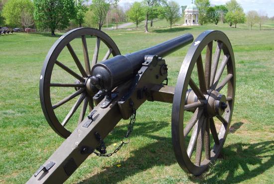 Sharpsburg, MD: Antietam cannon