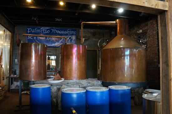 Anderson, Carolina Selatan: Moonshine still