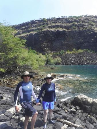 Kealakekua, HI: Happy travelers!