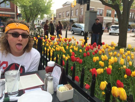 The best outdoor seating in downtown Holland