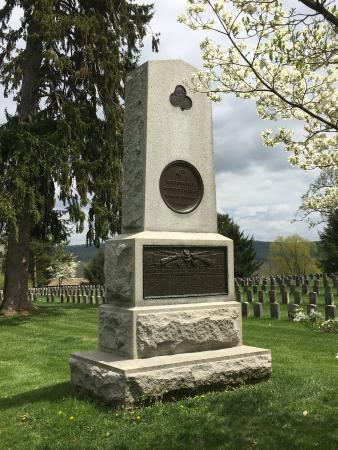 Sharpsburg, MD: Monument in National Cemetery