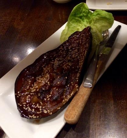 Nuka: Miso eggplant