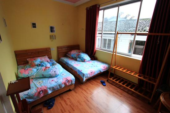 Yangshuo En Attendant Godot Hostel: Double room next to my room.