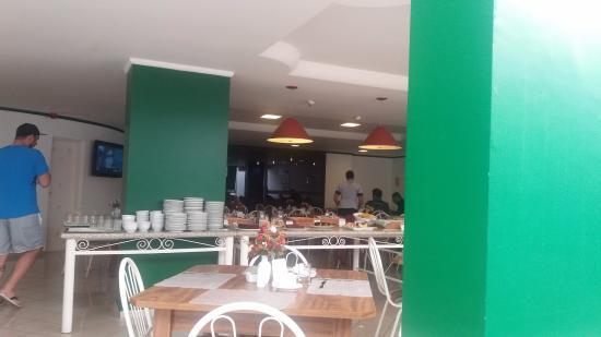 Tower Franca Hotel: Salão do café da manhã