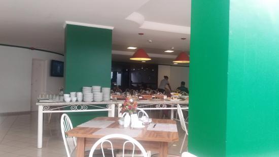 Tower Franca Hotel: Salão