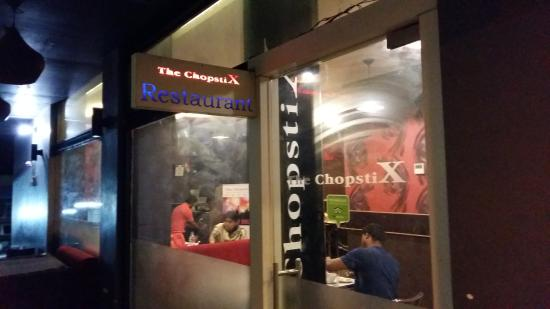 Entry Door Picture Of Chopstix Multicuisine Restaurant Madurai