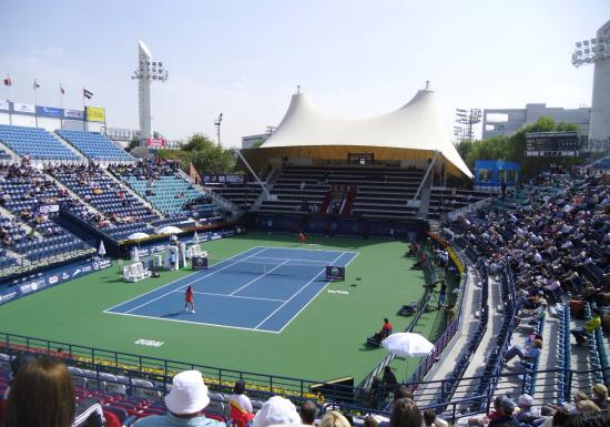 ‪Dubai Tennis Stadium‬