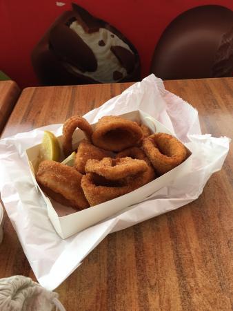 Tugun, Αυστραλία: Calamari Rings!!!