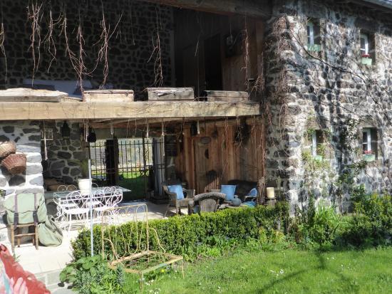 Arlempdes, Francia: Veranda