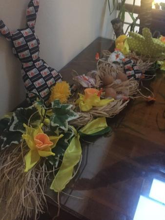 Hotel David: Adornos de Pascua