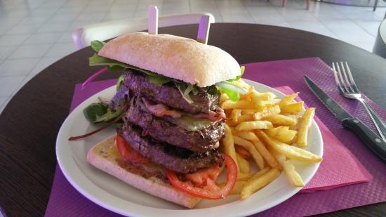 Bouches-du-Rhone, Francia: Burger élixirium