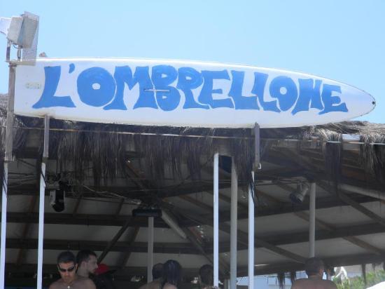 """Silvi Marina, Italia: Lido """"L'Ombrelone"""""""