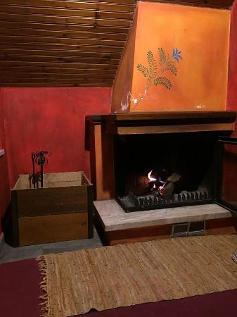 Elati, Hellas: Fire place