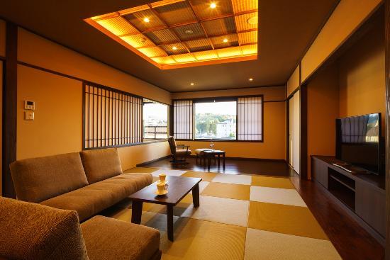 Tsukiokaonsen Masyuu: 四季邸いろは 客室「ゆき」