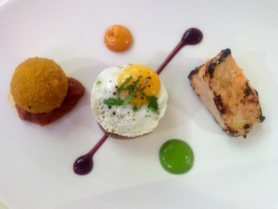 Totally amazing food indian fine dining 6 course taster for Fine dining food
