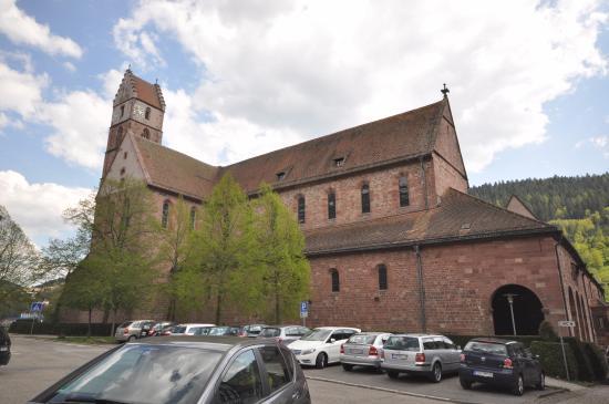 Die Kirche des Klosters Alpirsbach