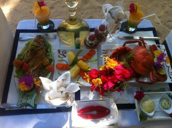 Ifaty Beach Club: FRUITS DE MER