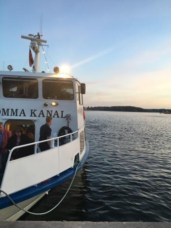 Rakfrossa Stommakanal Evert Taube boat