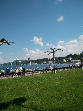 Bummelzug in Velden am Worhtersee