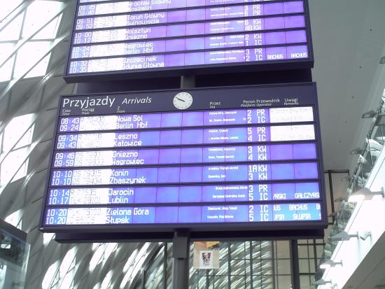 Poznan Glowny Railway Station