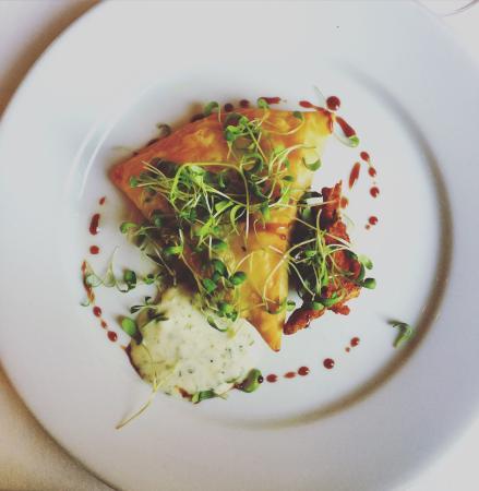 Restaurant Barnabas: Die Samosas zur Vorspeise waren richtig toll!