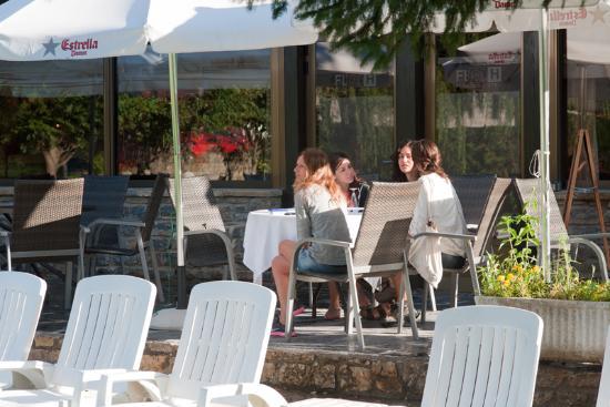 Hotel Florido: Terraza