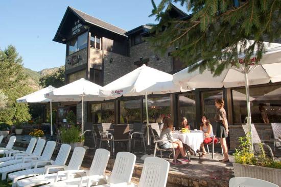 Hotel Florido: Terraza-Solarium