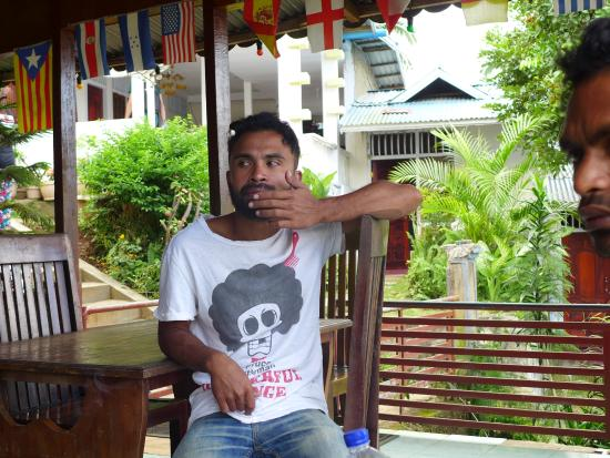Bintang Lodge : staff, speaks English fluently