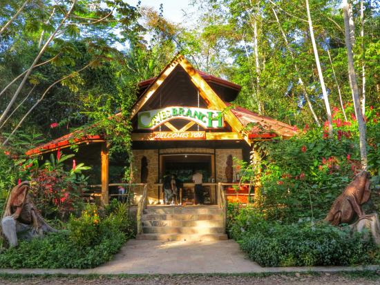 Ian Anderson's Caves Branch Jungle Lodge: welcoming center
