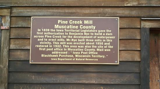 Pine Creek Grist Mill: 20160507_180244_large.jpg