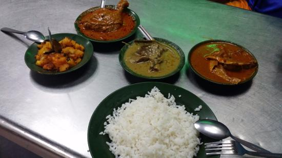 Matahari Cycle Tours Travel Food On The First Night