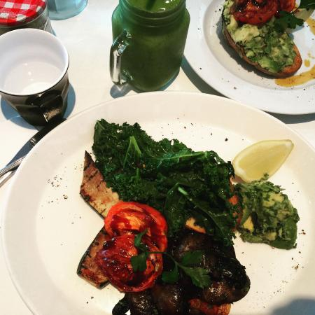 Blueys Beach, Australia: Vegan Big Breakfast