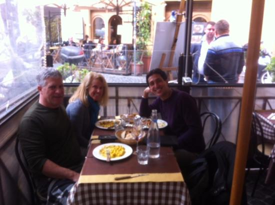 Rome Tours - Private tours of Rome: Lunch with our guide Tommaso.