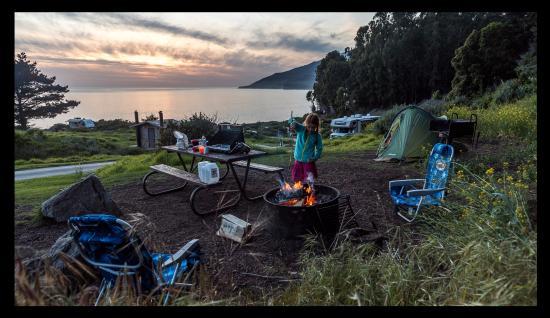 Kirk Creek Campground: site #26
