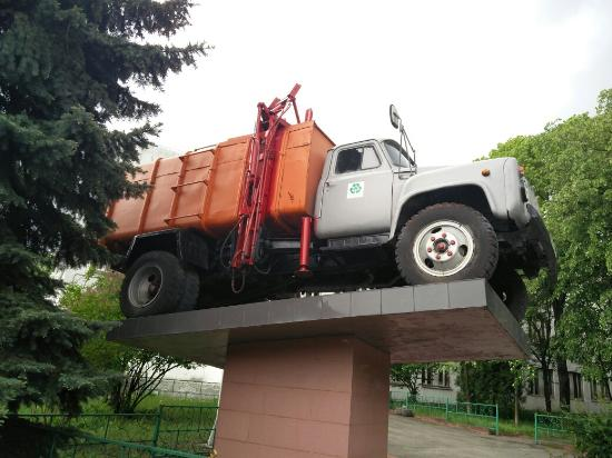 Trash Truck Monument
