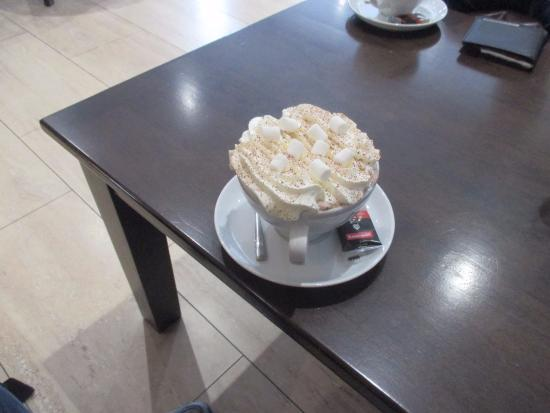 Burry Port, UK: Hot chocolate for chocolate lovers